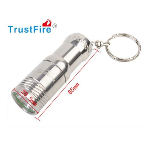 Senter Led Mini Polos trustfire senter led mini cree xm i t6 280 lumens mini 01 silver jakartanotebook
