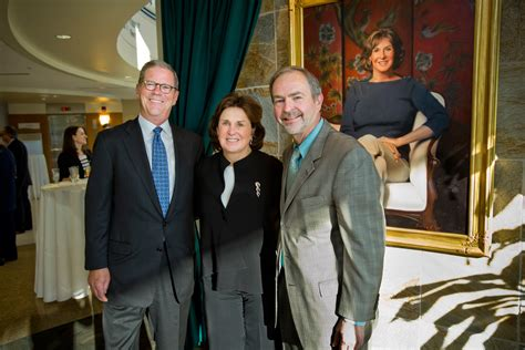 Wilmington Mba Finance by Carol A Ammon Portrait Unveiled In Wilmington Hospital