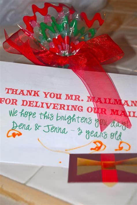 rak  mailman   card bag  holiday candy starbucks card christmas card