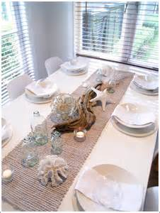 sommerwhite coastal tablescape
