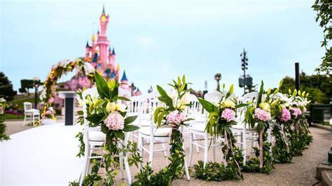 Disneyland Paris Now Offering Weddings and Vow Renewals