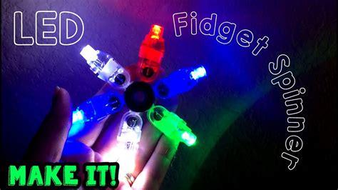 make your own led l make your own led fidget spinner youtube