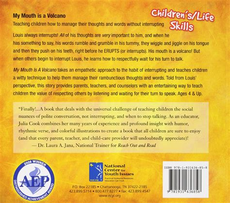 my mouth is a 1931636850 my mouth is a volcano paperback amazon