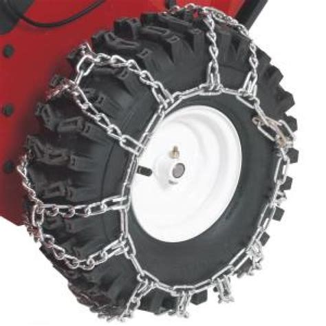Toro Garden Tractor by Toro Two Stage Snow Blower Tire Chains Fits Power Max