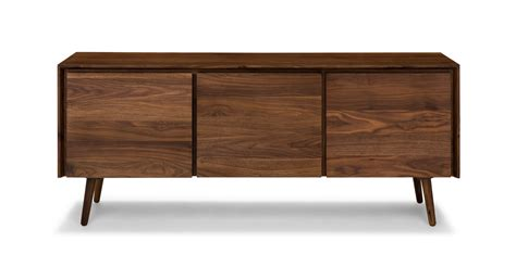 modern sideboards furniture seno walnut 71 quot sideboard cabinets article modern