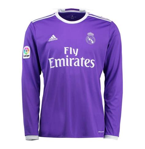 Jersey Real Madrid Away 2016 2017 2016 2017 real madrid adidas away sleeve shirt