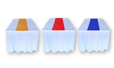 Cover Meja Prasmanan Putih Biru by Sewa Meja Prasmanan Paling Lengkap Di Sini Murah