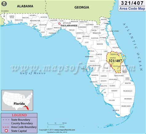 us area code florida 407 area code map where is 407 area code in florida