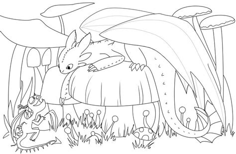 Toothless Coloring Pages Games | toothless the dragon by aritimas deviantart com on