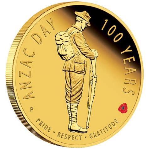 new year traditions gold coins the anzac spirit 100th anniversary coin series anzac day