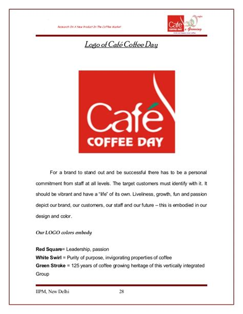 store layout of cafe coffee day cafe coffee day thesis sachin ds68 m310