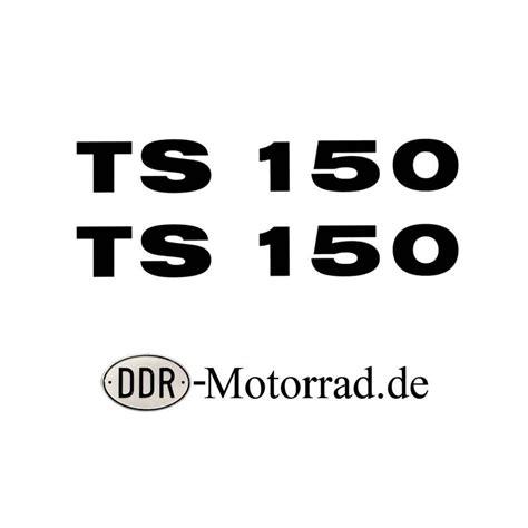 Motorrad Aufkleber Verkleidung aufkleber set verkleidung mz ts 150 ddr motorrad