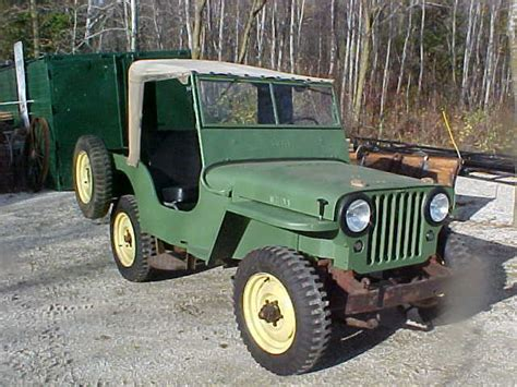 1946 Willys Jeep Specs Willy S Jeep 1946 Early Cj2a For Sale In Manitowoc