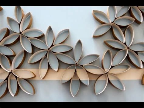 How To Make Toilet Paper Flowers - flowers using toilet paper rolls diy