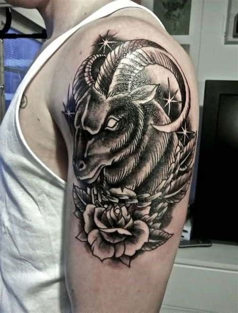 upper arm aries tattoos for erkek 252 st kol ke 231 i d 246 vmesi goat for arm 220 st kol