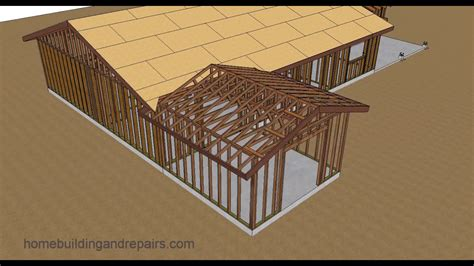Dachkonstruktion Satteldach by Gable Roof Addition Framing Www Pixshark Images
