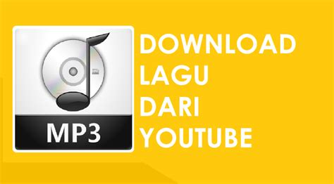cara download lagu mp3 dari youtube lewat hp cara download lagu dari youtube