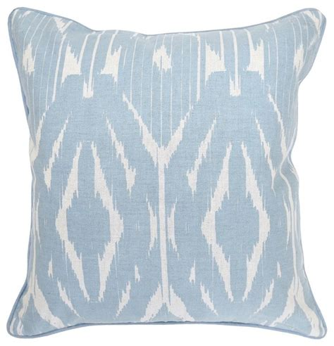 mortko light blue accent pillow decorative pillows los
