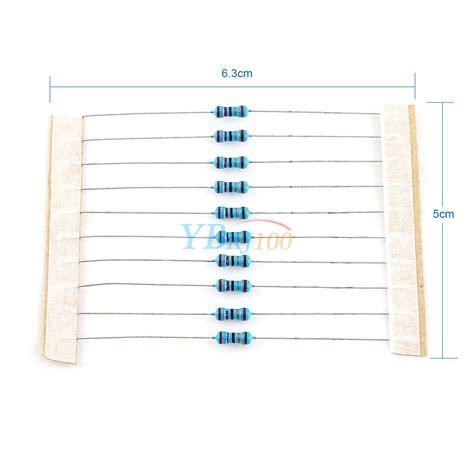 standard 1 4w resistor values 560pc 56 values 1 4w 177 1 0 25w metal resistors kit pack mix assortment high ebay