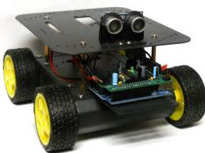 Learn how to build your own arduino robot make