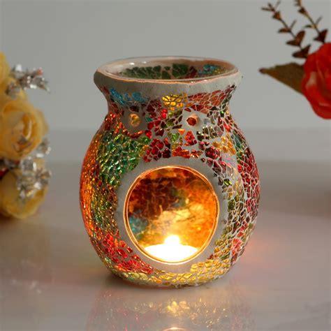 Wholesale Suppliers Home Decor aliexpress com buy fashion glass mosaic incense burner