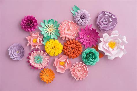 fiori di das come creare dei fiori di carta colorati deabyday tv