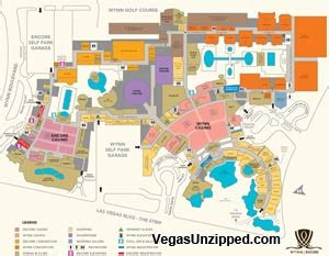 Wynn Las Vegas Floor Plan by Las Vegas Hotel And Casino Property Maps List