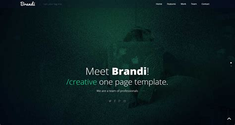 8 Best Free Responsive Css Website Templates For Building Your Website Hackers Website Template