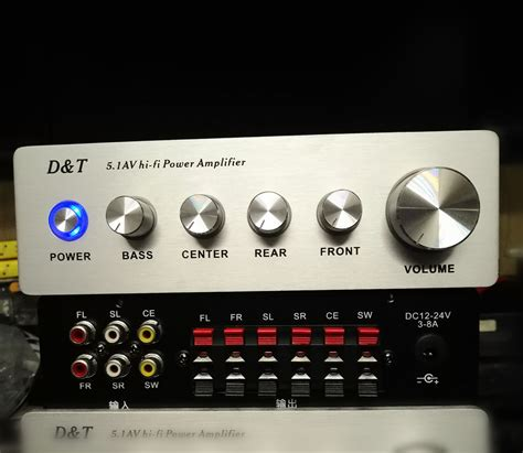 high power  digital amplifier  channel home theater