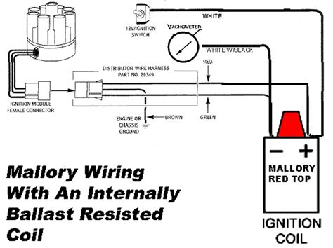 mallory ignition wiring diagram wiring diagram mallory unilite wiring diagram mallory