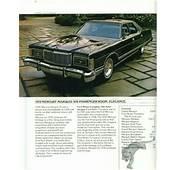 1978 Mercury Grand Marquis Four Door  Cars Pinterest