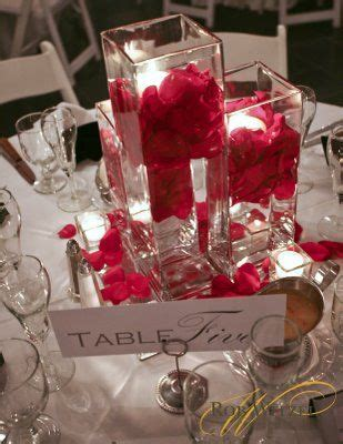 Square Vases For Centerpieces by 1000 Ideas About Square Vase Centerpieces On
