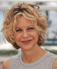 does meg ryan have naturally curly hair embracing my thick coarse curly hair on pinterest short