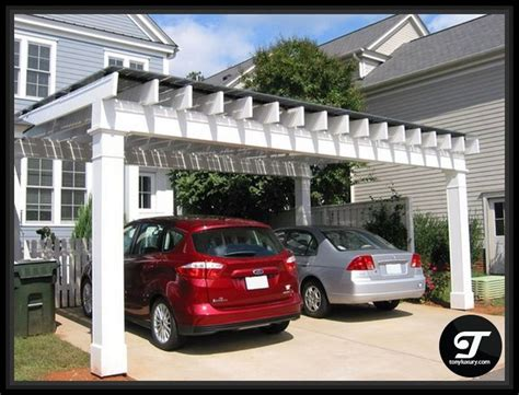 Pergola Style Carport by Best 10 Pergola Carport Ideas On Carport