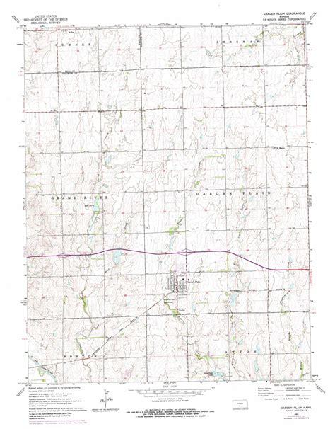 garden plain topographic map ks usgs topo 37097f6
