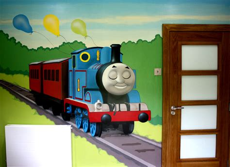 Thomas The Tank Engine Wall Murals thomas the tank engine wall stickers peenmedia com