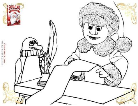 Santa Claus Is Coming To Town Coloring Pages santa claus is comin to town printable coloring page