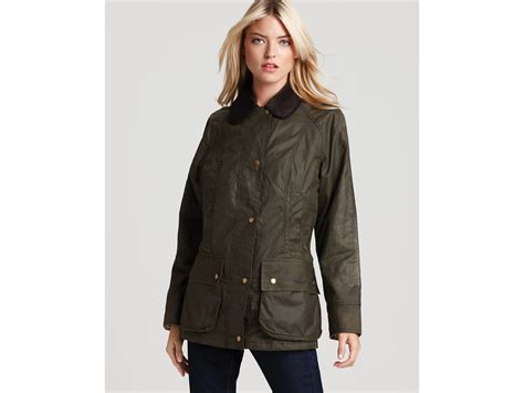 Ladies Bench Jackets Barbour Liberty Beadnell Jacket In Green Lyst