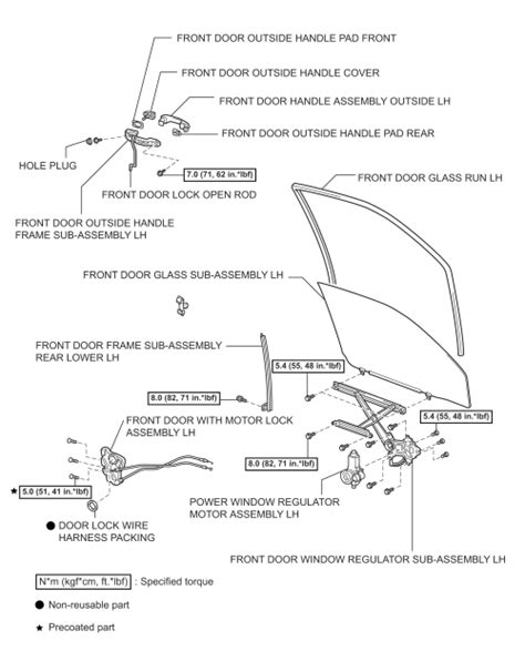 Toyota Camry Interior Parts Diagram by Repair Guides Exterior Outside Mirrors Autozone
