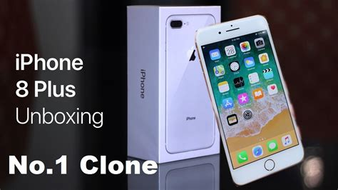 no 1 clone iphone 8 plus unboxing high copy review by mobile bazaar