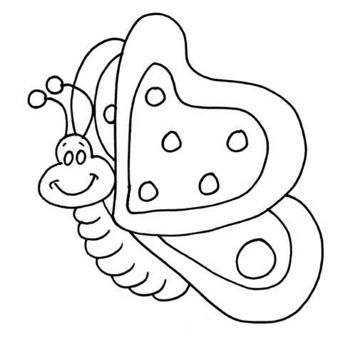 Cute Butterfly Coloring Pages sketch template