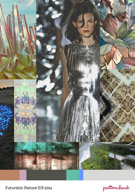 patternbank inspiration trend prediction spring summer 2014 futuristic nature