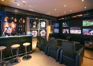 Seahawks Decor 17 Killer Man Cave Ideas Dudeliving