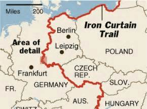 what is iron curtain this is a image of the quot iron curtain quot of the border of