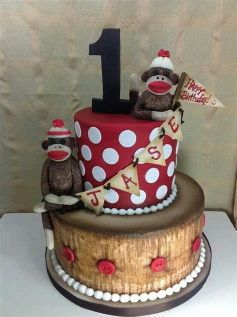 a sock monkey cake sock monkey cake cakes for