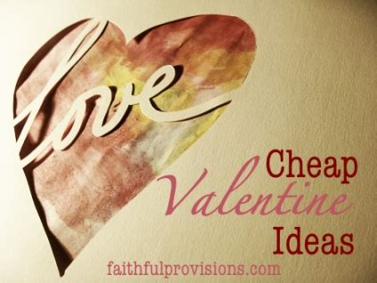 cheap valentines day ideas for 14 cheap valentines ideas cards