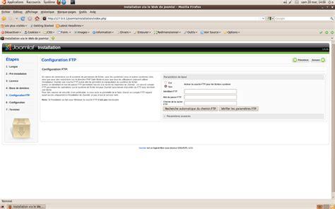 configure joomla xp joomla configuration principale informateque