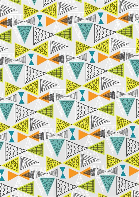 Mid Century Geometric Patterns by Pin By Aurora Fox On Patterns Pinterest
