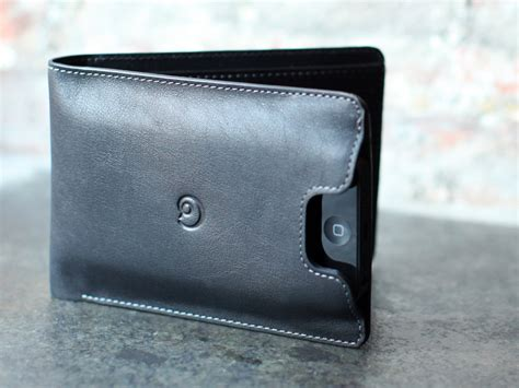 Exclusive Design Kulit For Iphone 5 5s Leather Black Or Brown leather wallet with iphone 5 bifold black by danny p