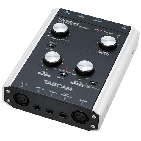 Usb Audio tascam us 122mkii usb 2 0 computer audio interface us